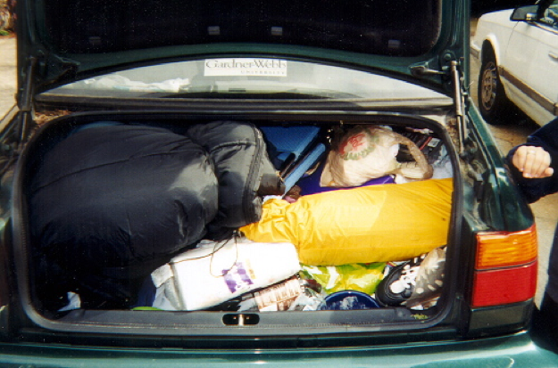Susan's 2nd Picture-Car Trunk